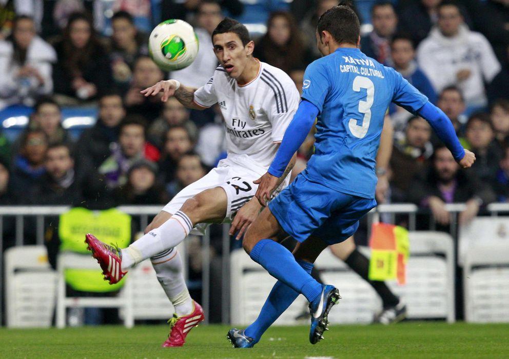 Foto: Ángel Di María hizo el primer gol de penalti en toda su carrera este miércoles.