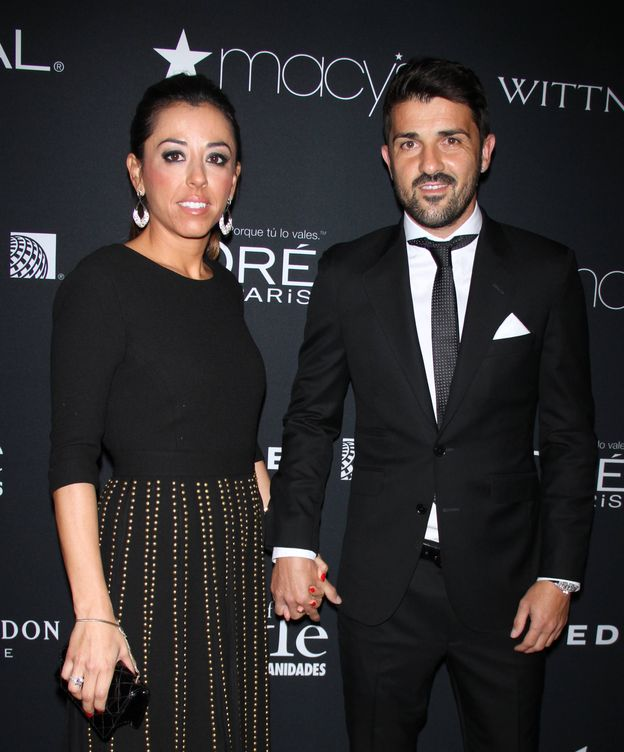 Foto: David Villa y su mujer, Patricia González (Gtres)