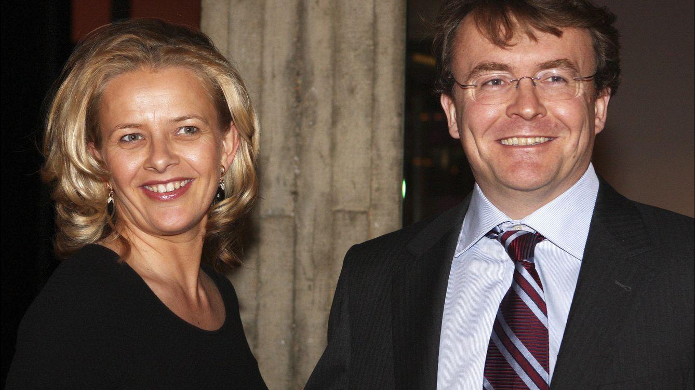 Foto: Friso junto a su mujer, Mabel Wisse, en una imagen tomada en 2010 (Efe)