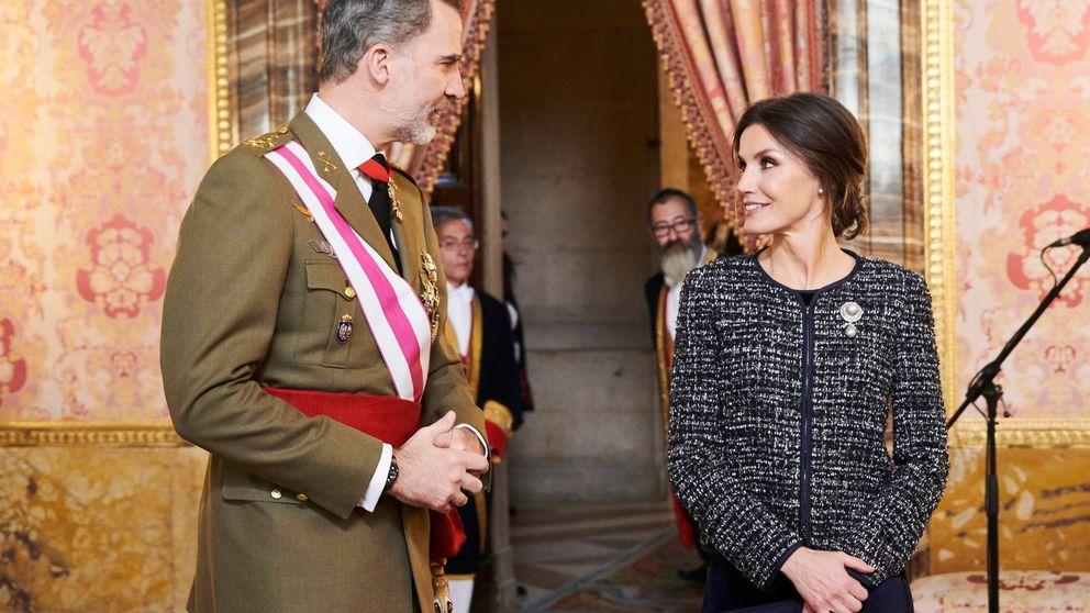 Felipe y Letizia presiden la Pascua Militar: así lo hemos vivido