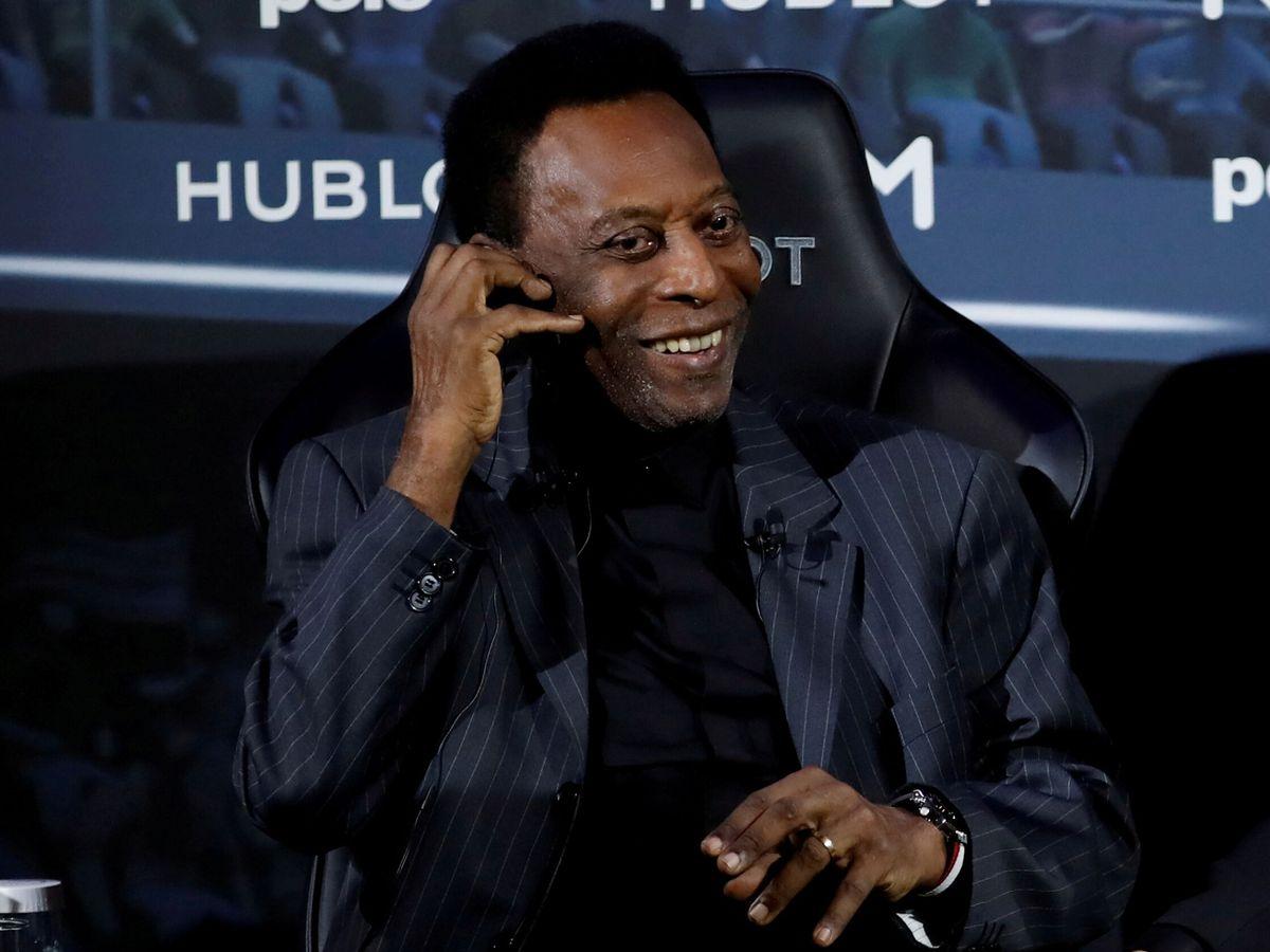 Foto: Pelé, de 80 años, está convencido de superar este trance (Reuters/Christian Hartmann)