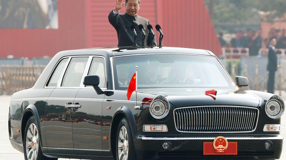 Foto: Presidente chino Xi Jinping durante el desfile militar de octubre. (Reuters)