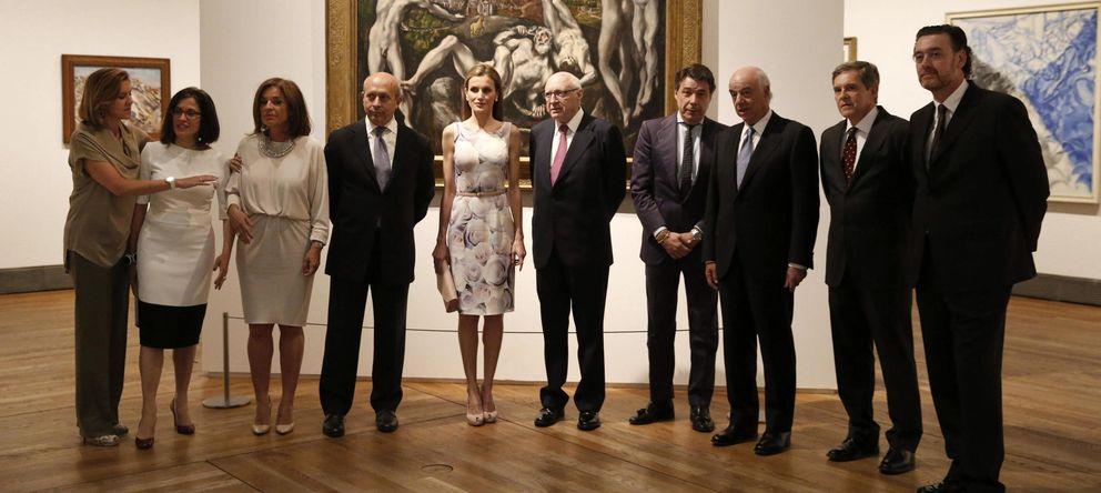 Foto: La reina Letizia inaugura la exposición 'El Greco y la pintura moderna'