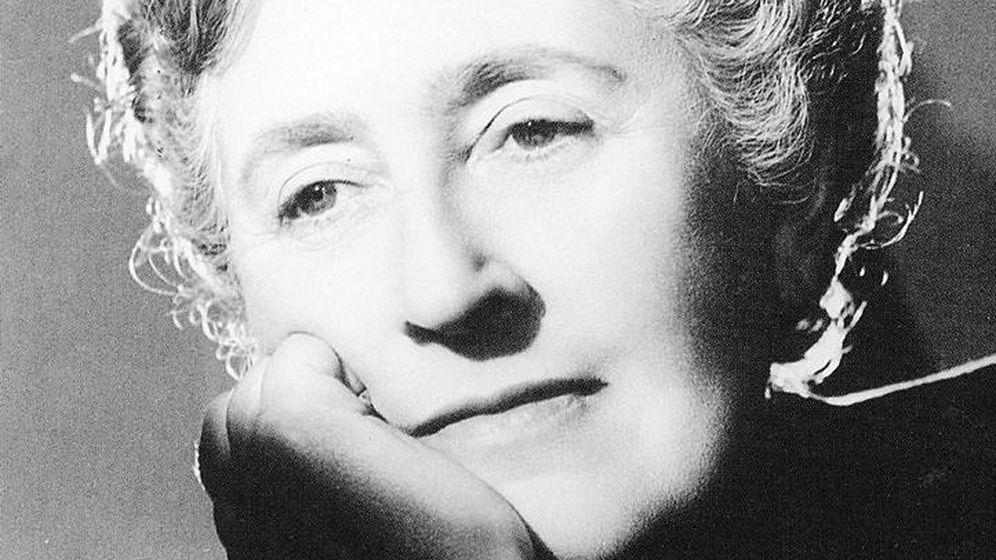 Foto: La escritora Agatha Christie.