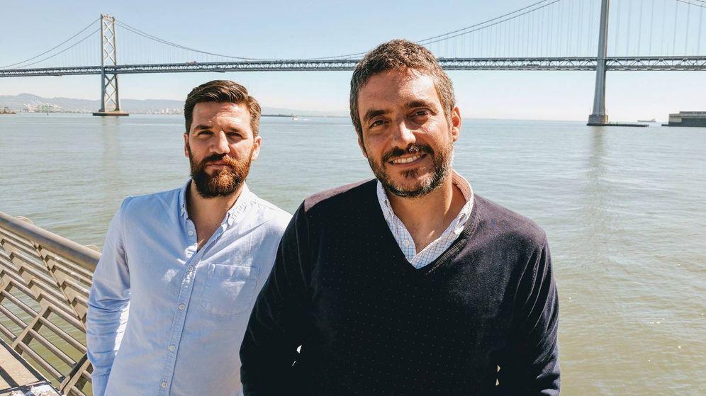 Foto: Juanjo Feijóo y Javier Cortés trabajan como vicepresidente de operaciones y controller financiero de Instacart, respectivamente.