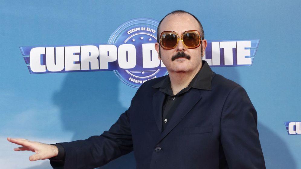 Foto: Carlos Areces, en la presentación de 'Cuerpo de élite'.