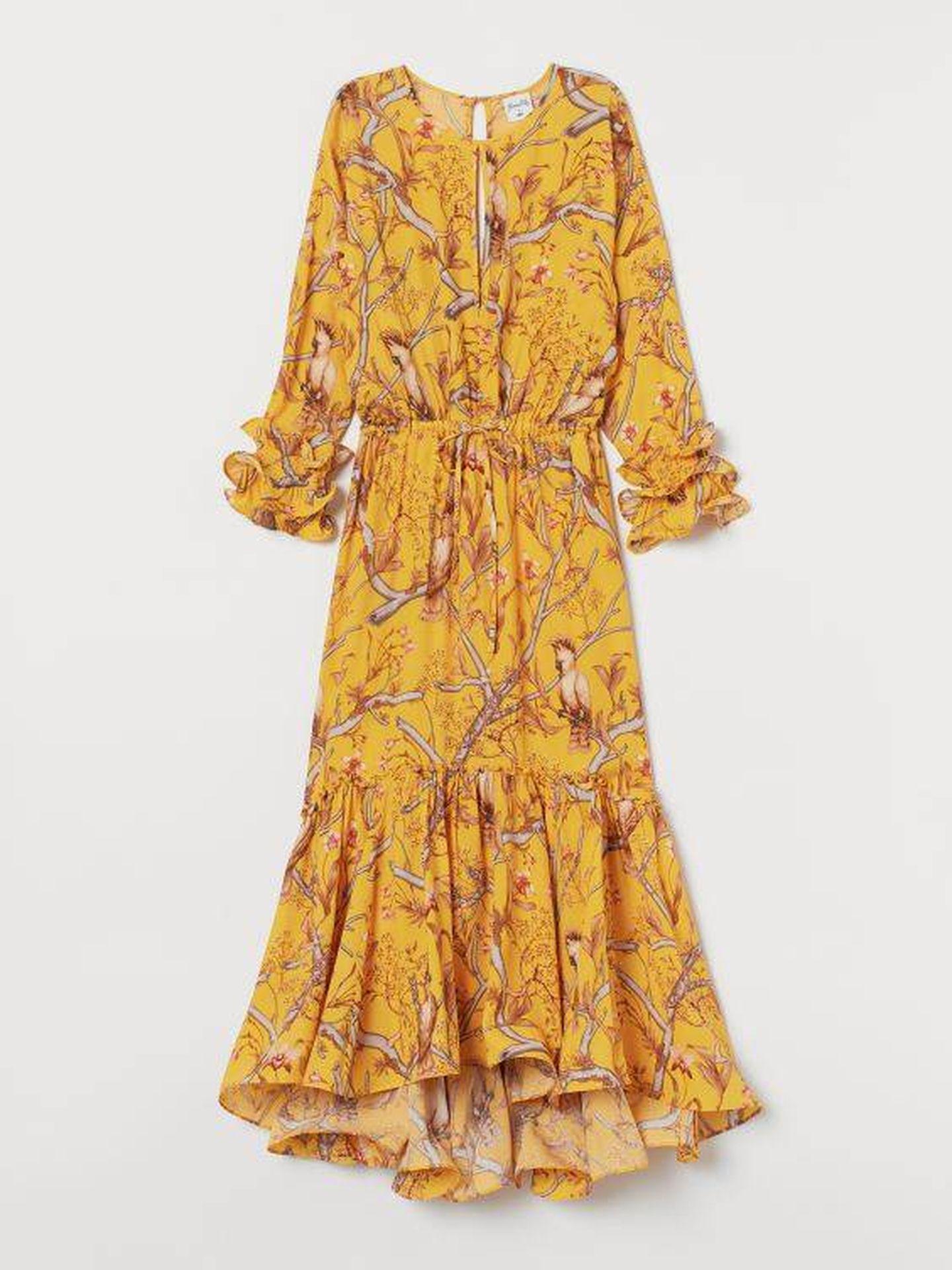 El vestido de Johanna Ortiz para HyM (Cortesía)