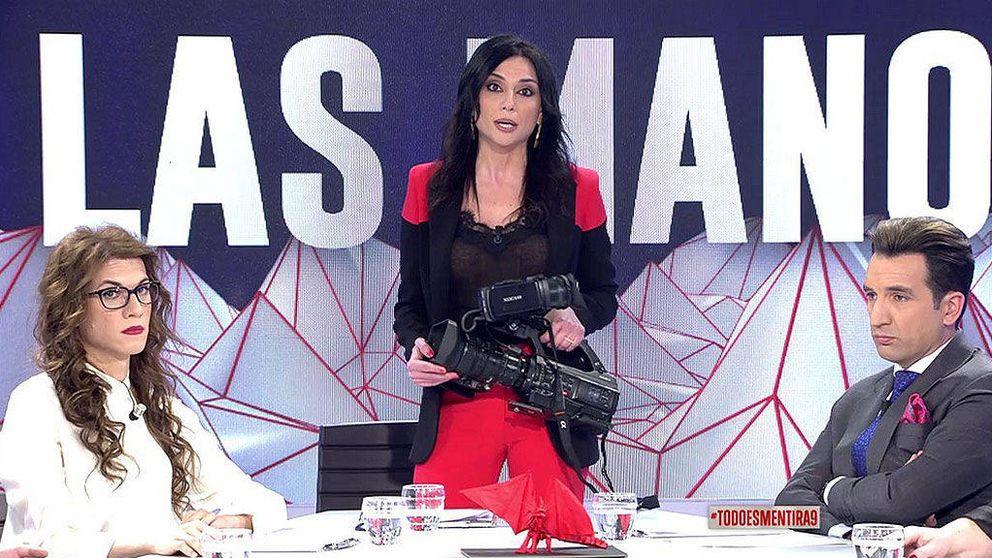 Zarandean a una reportera de 'Todo es mentira' por preguntar a Carmena