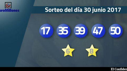 Resultados del sorteo del Euromillones del 30 de junio de 2017