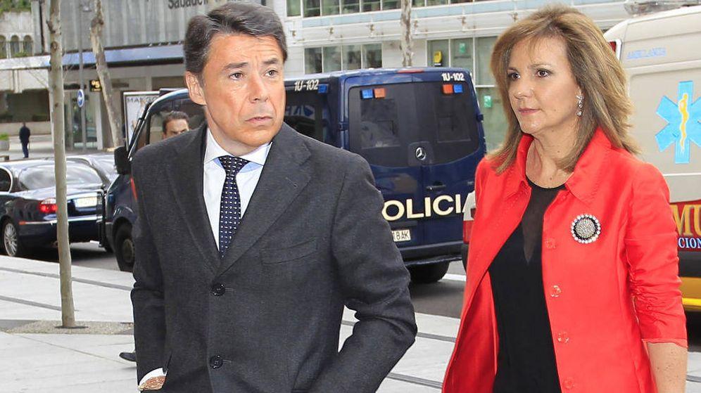 Foto: Ignacio González y Lourdes Cavero, en una imagen de archivo. (Gtres)