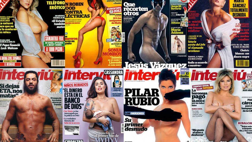 De Marisol a Terelu Campos: las portadas de 'Interviú' que pasarán a la historia