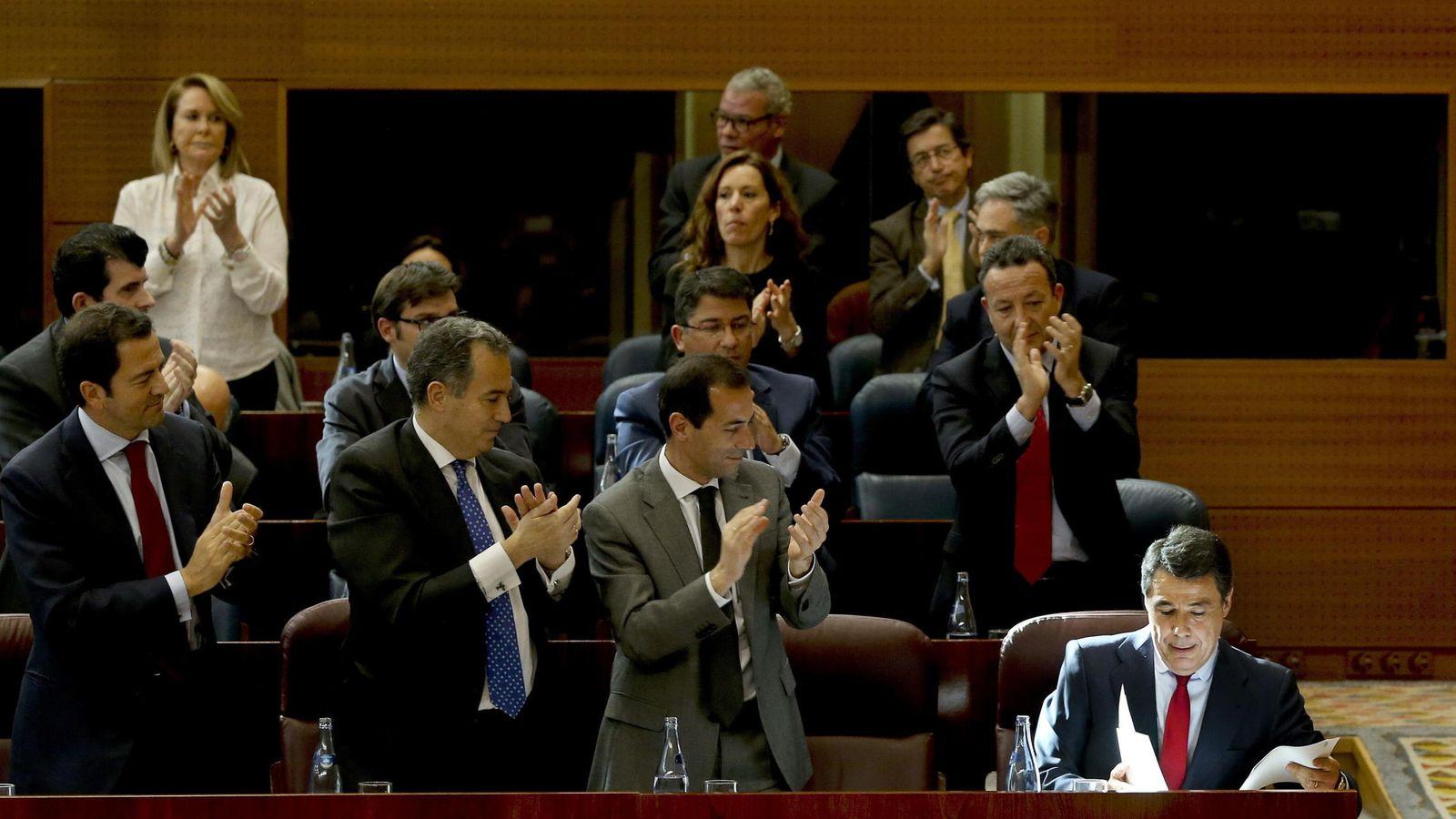 Foto: El todavía presidente de la Comunidad de Madrid, Ignacio González. (Efe).