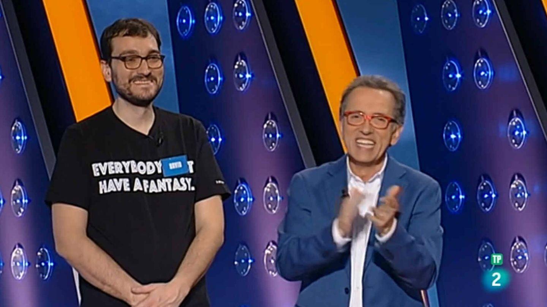 David Díaz y Jordi Hurtado, en 'Saber y ganar'. (TVE)