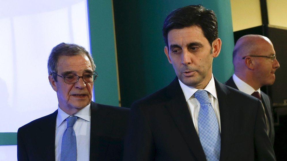 Foto: José María Álvarez Pallete y César Alierta en una imagen de archivo (EFE)
