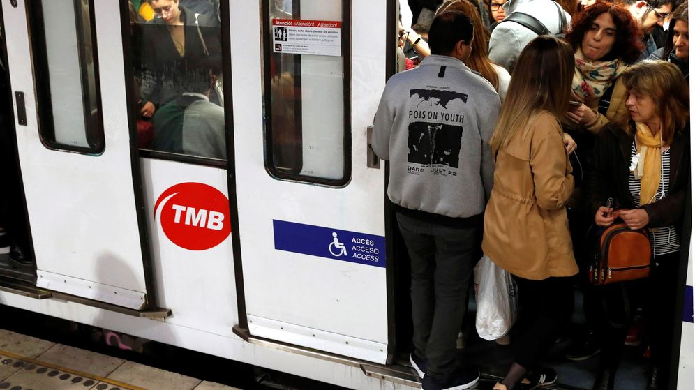 Foto: Huelga de metro en Barcelona. (Efe)