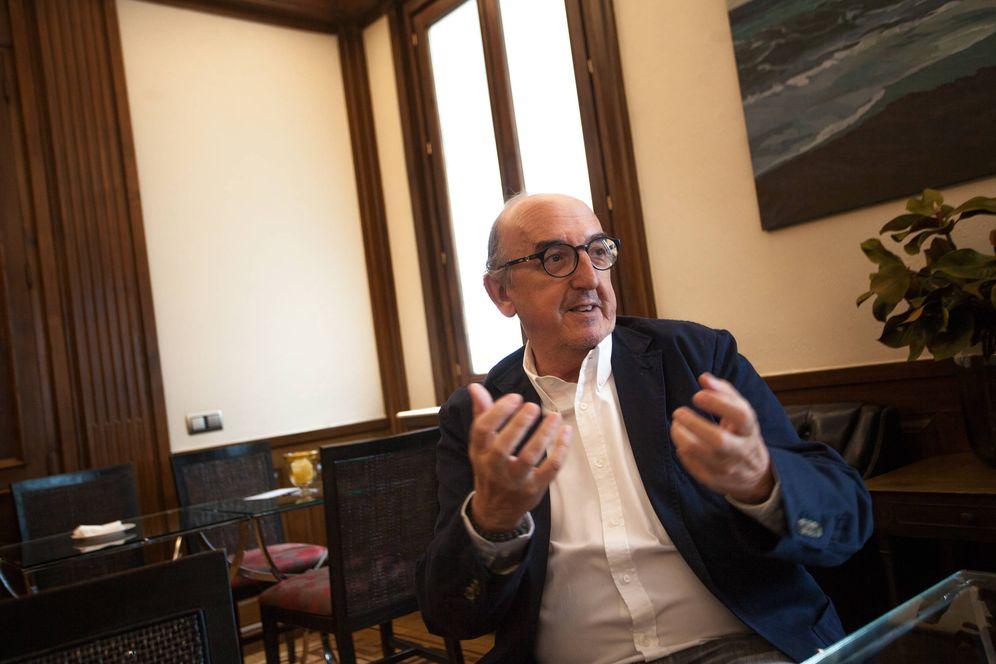 Foto: Jaume Roures, presidente de Mediapro. (Enrique Villarino)