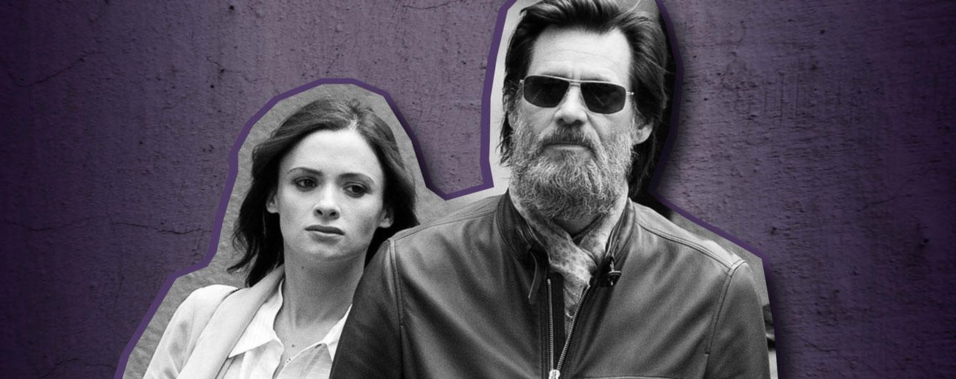 Foto: Cathriona White y Jim Carrey (Gtres)