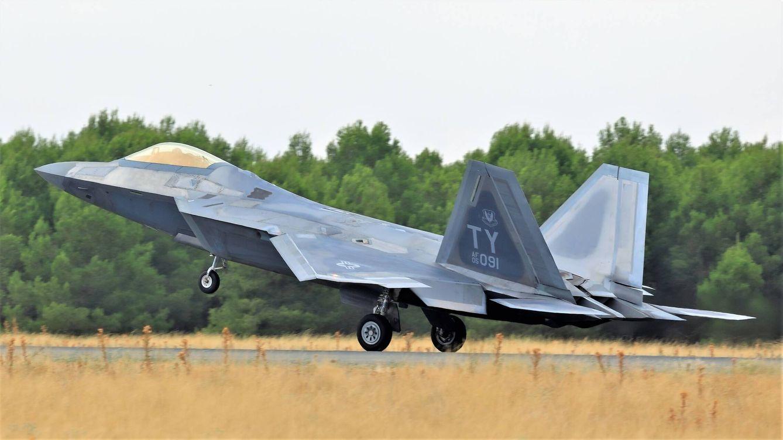 Foto: El F-22 es hoy el mejor caza en servicio. (Juanjo Fernández)