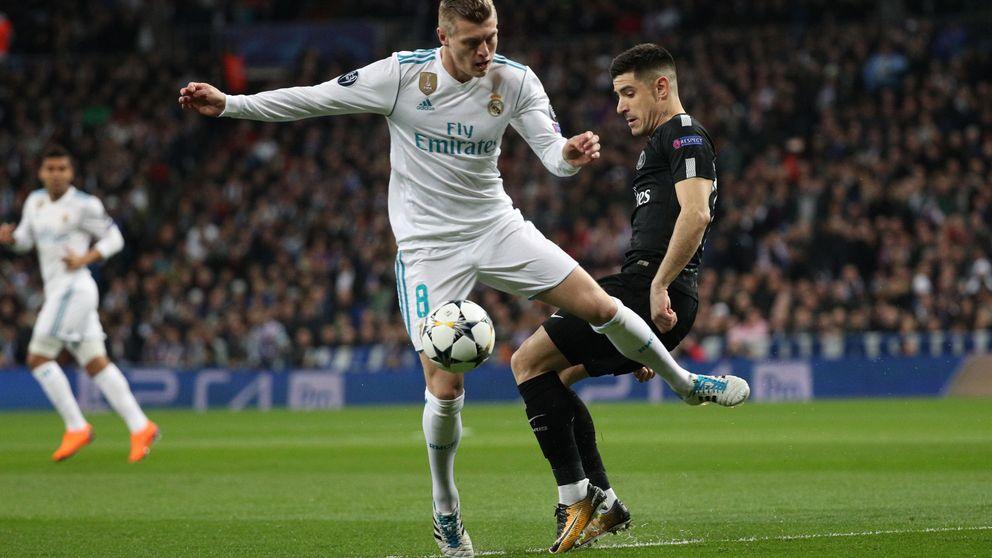 Kroos cae lesionado y peligra su presencia ante el PSG