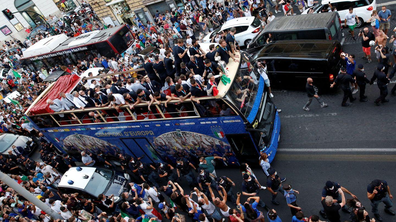 Desfile de la victoria en Roma (Reuters)