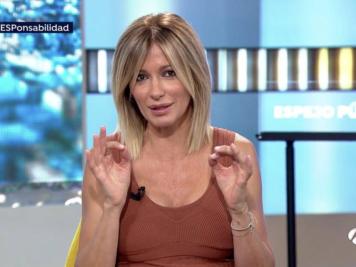Foto: Susanna Griso en 'Espejo público'. (Atresmedia Televisión)