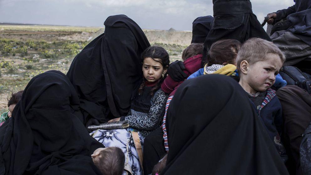 Un Califato de solo dos kilómetros: así sobreviven hacinados los últimos del ISIS
