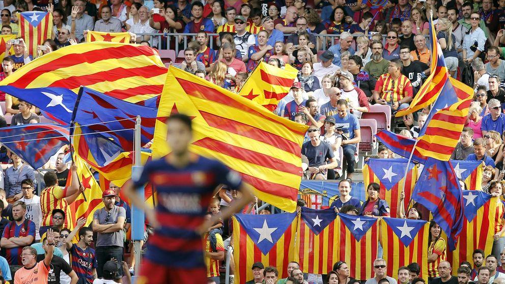 La nueva sanción de la UEFA obliga al Barcelona a defender las esteladas