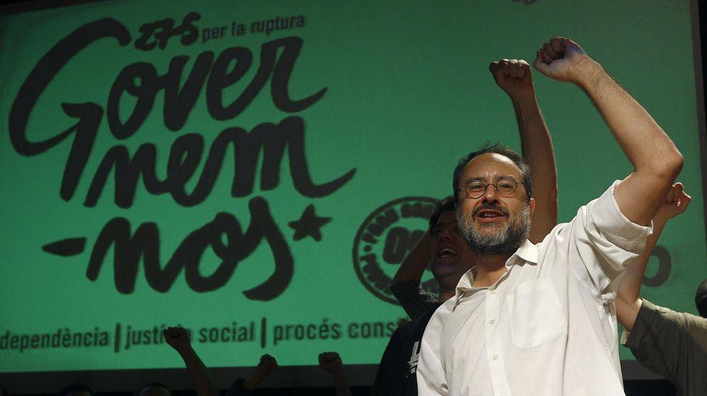 Foto: El candidato de la CUP, Antonio Baños. (EFE)