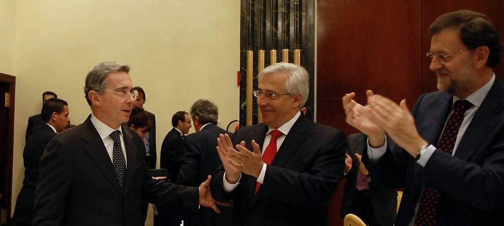 Foto: El presidente del Grupo Intereconomía, Julio Ariza (c). (Efe)