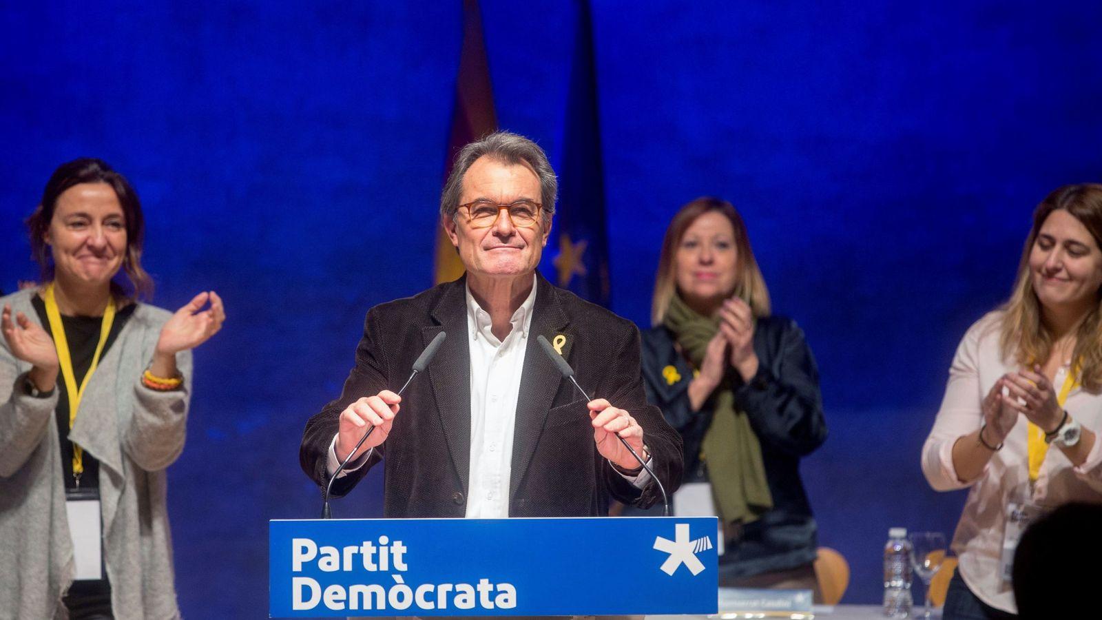 Foto: El expresidente del PDeCAT, Artur Mas. (EFE)