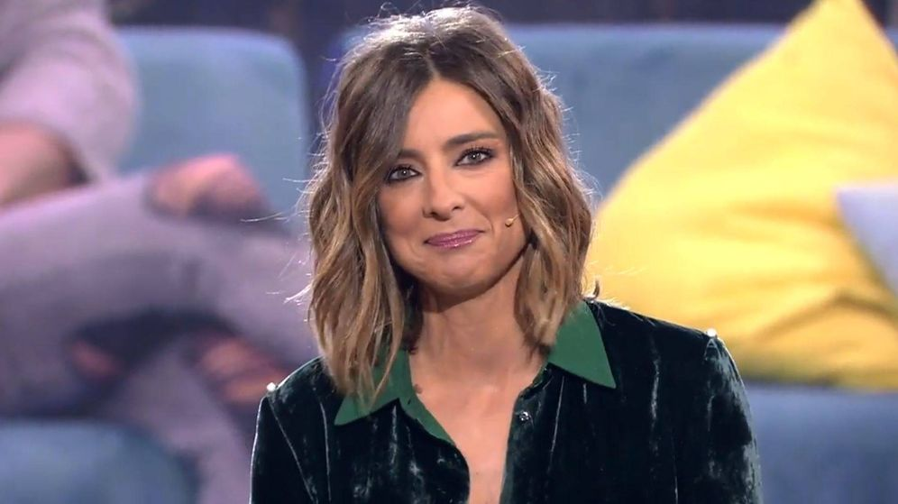 Foto: Sandra Barneda en el debate de 'GH VIP 6'. (Mediaset España)
