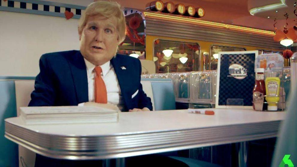 La desternillante imitación de Joaquín Reyes como Donald Trump