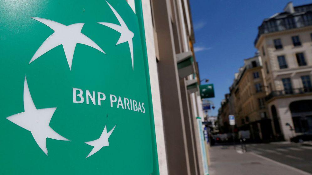 Foto: Logo de BNP Paribas. (Reuters)