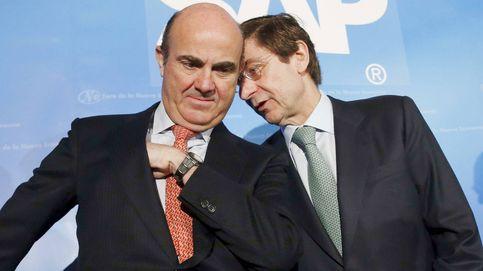 Guindos culmina su último guiño para llegar al BCE con la venta del 7% de Bankia