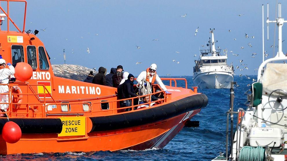 Mueren en Almería otros dos inmigrantes que fueron rescatados en patera en Alborán