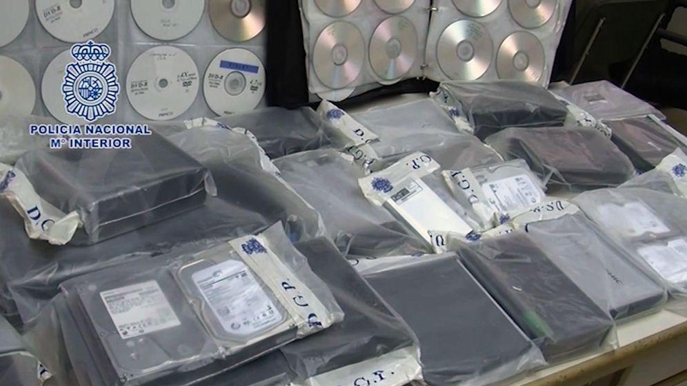 Foto: Cae una extensa red de pornografía infantil que guardaba archivos en la nube (Efe)