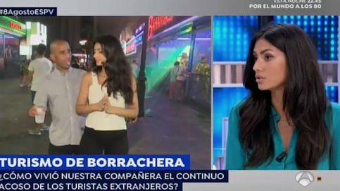 Una reportera de 'Espejo Público', acosada mientras grababa un reportaje en Benidorm