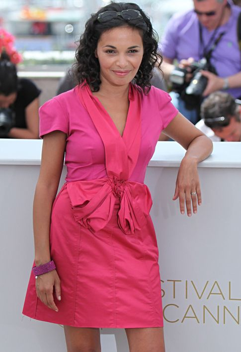 La actriz Saida Jawad