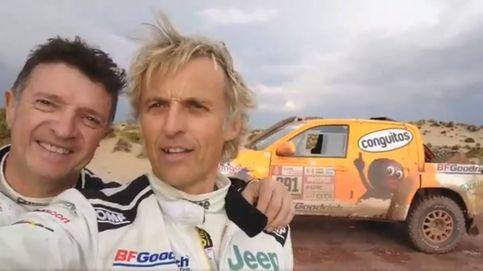 La otra aventura de Calleja tras volver del Dakar a dedo, en furgoneta, 'by la patilla'