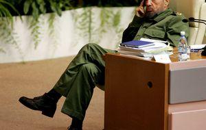 Castro no confía en EEUU pero respalda una solución pacífica