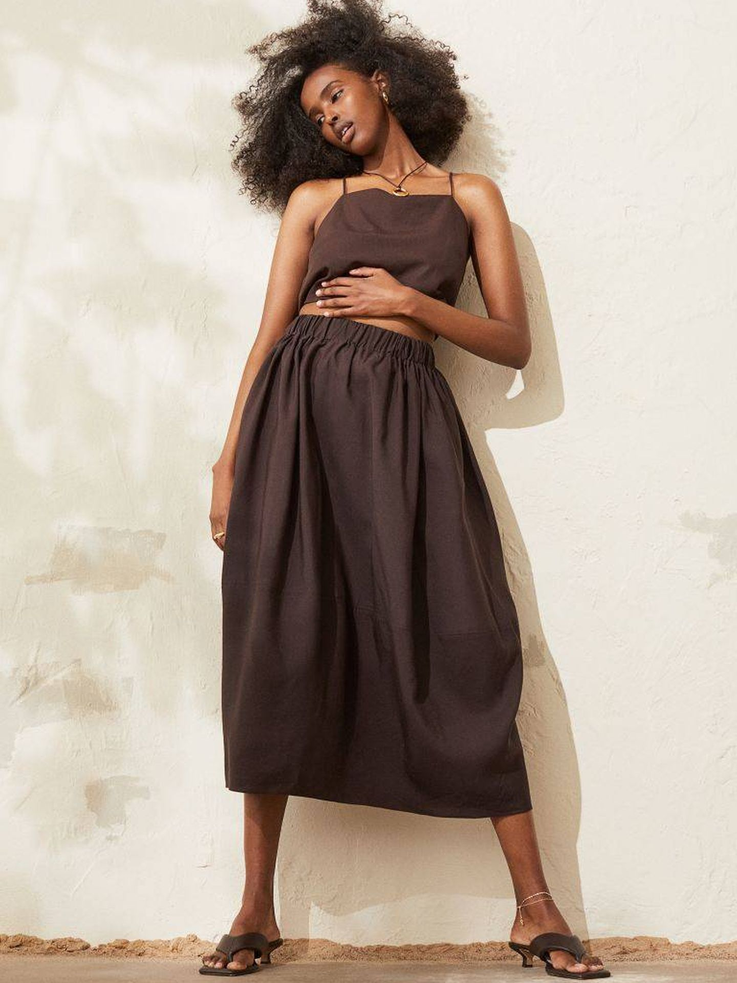 La falda de HyM. (Cortesía)
