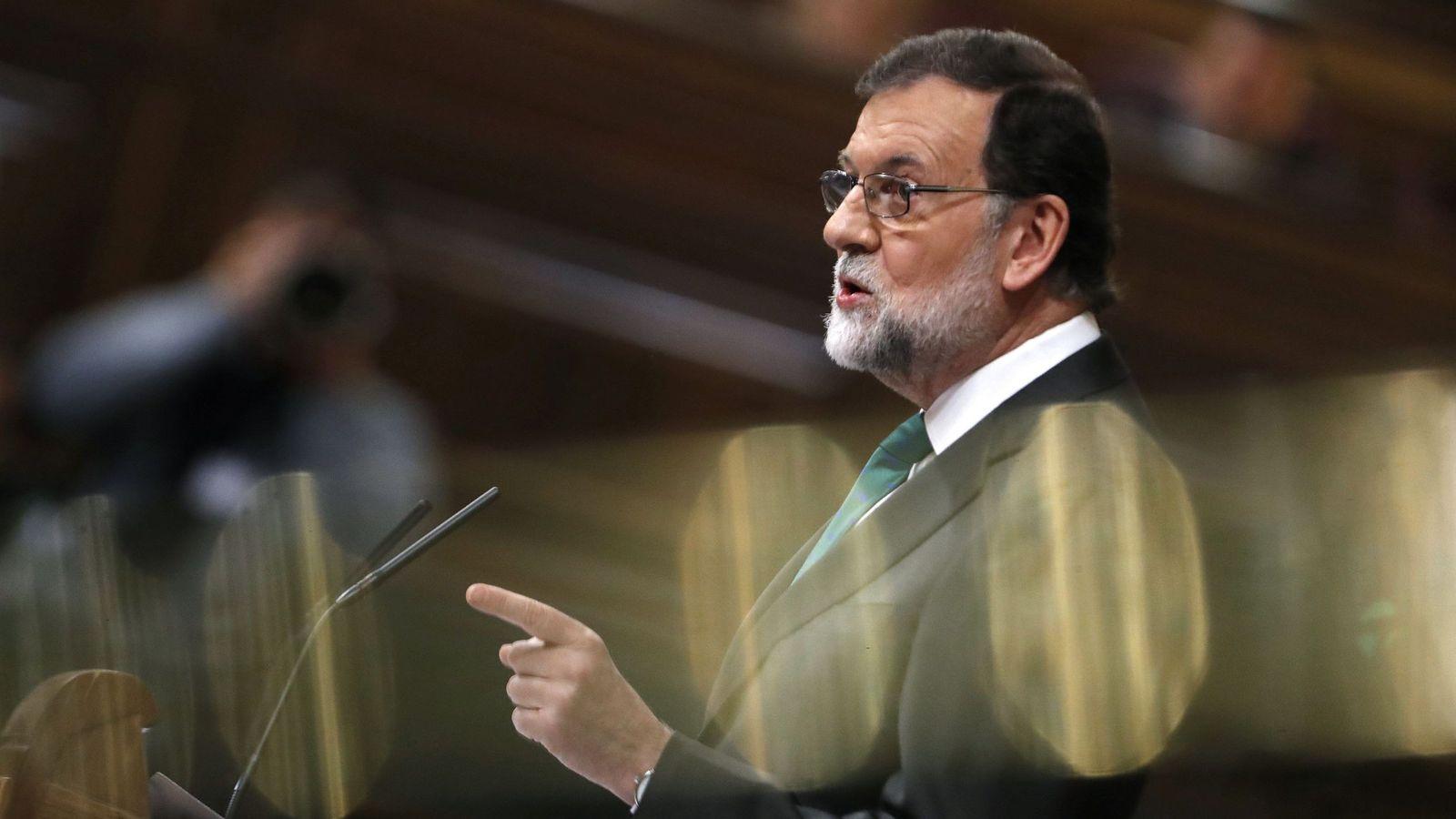 Foto: Moción de censura Congreso de los diputados   EFE Javier Lizón