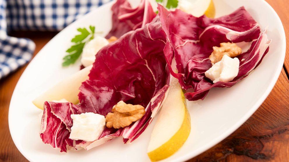 Radicchio, una verdura casi desconocida con beneficios para la salud digestiva