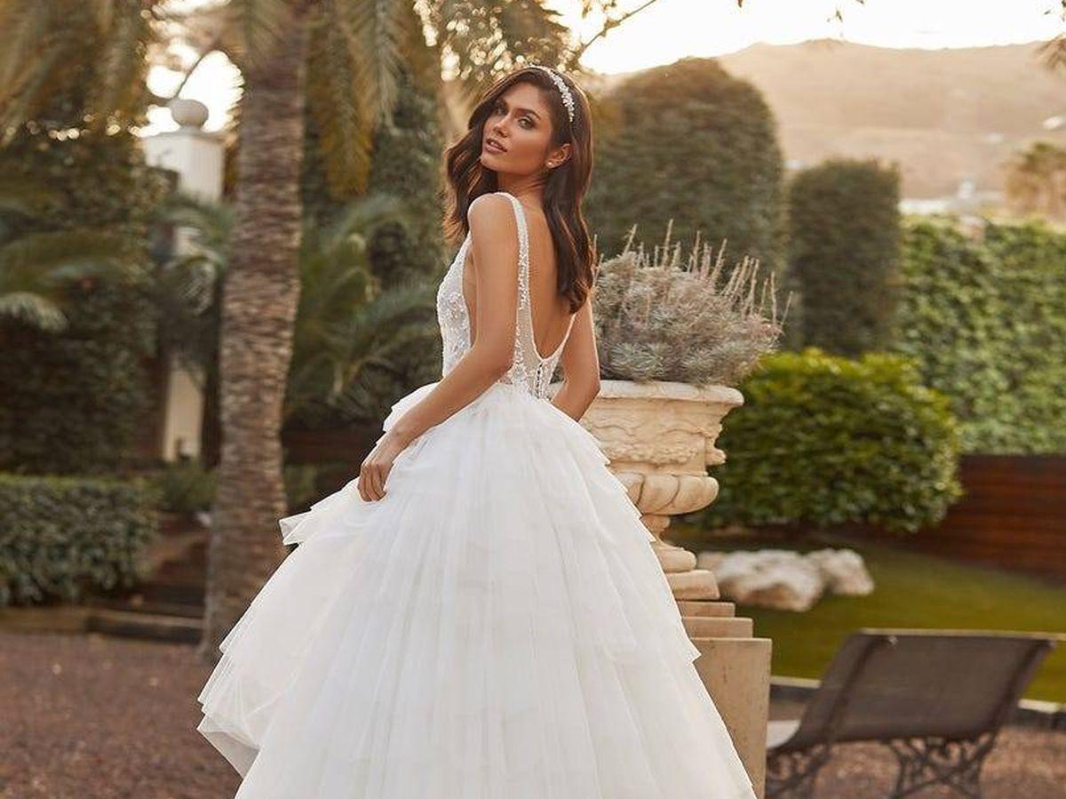 Foto: Vestido de corte princesa de Pronovias. (Cortesía)