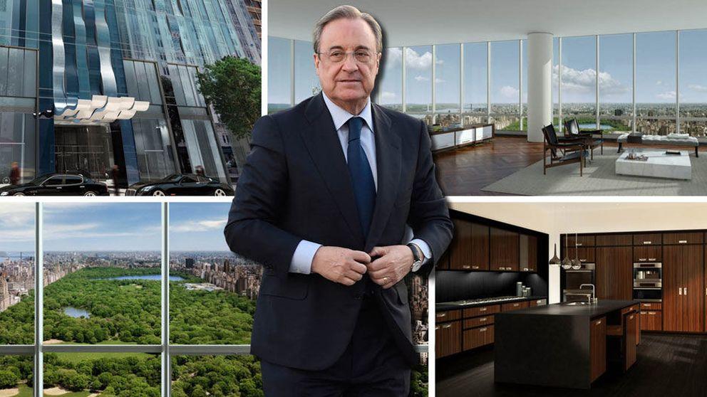 Florentino Pérez niega la compra del ático, pero una empresa le desmiente