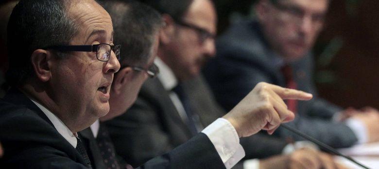 Foto: El conseller de Empresa y Empleo de la Generalitat, Felip Puig