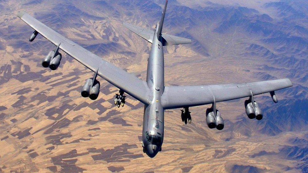 Foto: El bombardero B-52. (Foto: USAF)