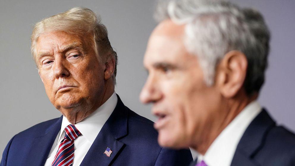 El nuevo asesor 'favorito' de Trump que quiere un plan 'más relajado' contra el virus