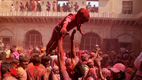 Arranca el festival más colorido de India, el Holi