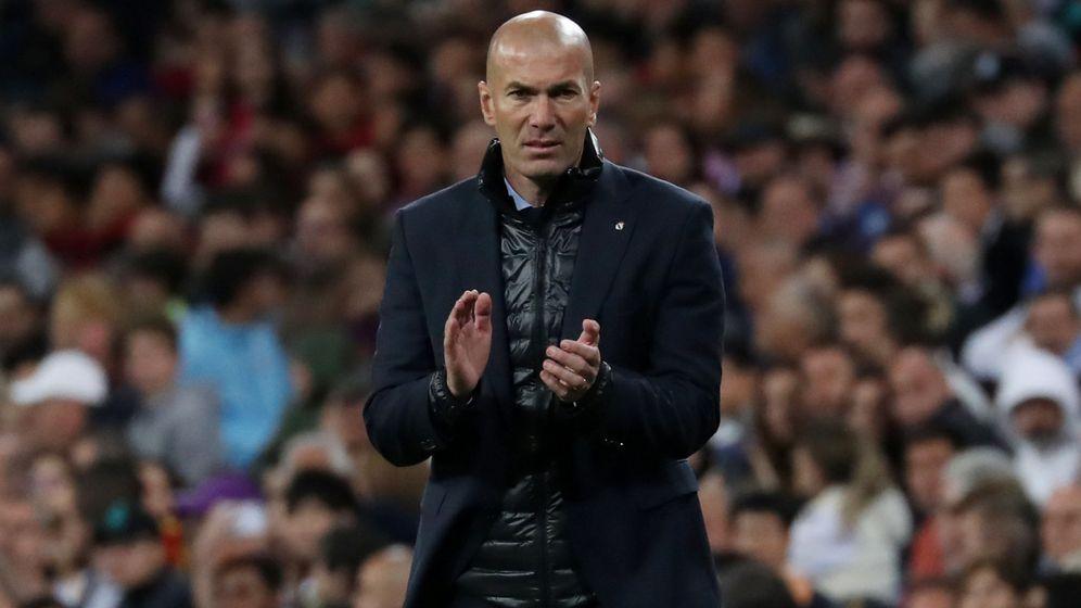 Foto: Zidane piensa en su futuro fuera del Real Madrid. (Reuters)